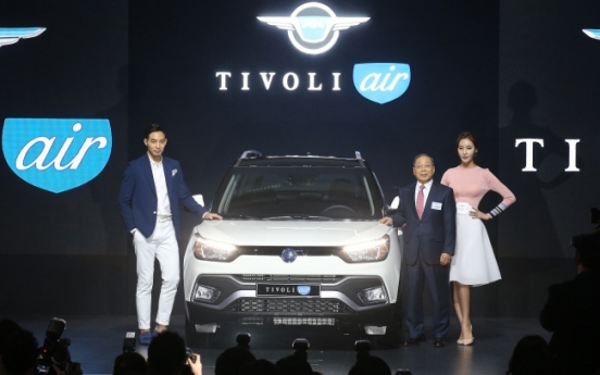 Ssangyong spurs sales of compact SUVs with Tivoli Air