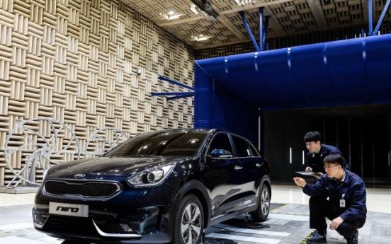 Kia eyes small SUV market with 'Niro' hybrid