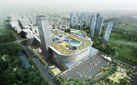 Retail giants bet on mega shopping malls