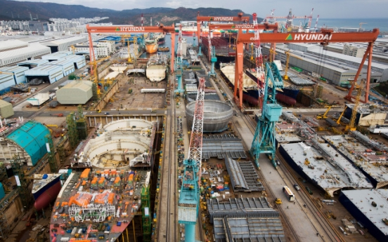 [KOSPI Watch] Korean shipbuilders in difficulty amid slowdown