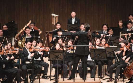 [Herald Interview]  Korea's first female chief conductor leads Gyeonggi Philharmonic at TIMF