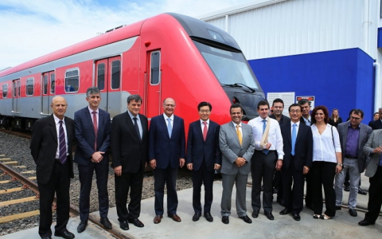 Hyundai Rotem completes production line in Brazil