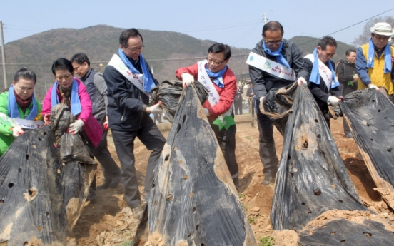 Plastic waste a problem in rural Korean areas