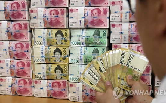 [Market Now] Korean won gains fastest among Asian currencies