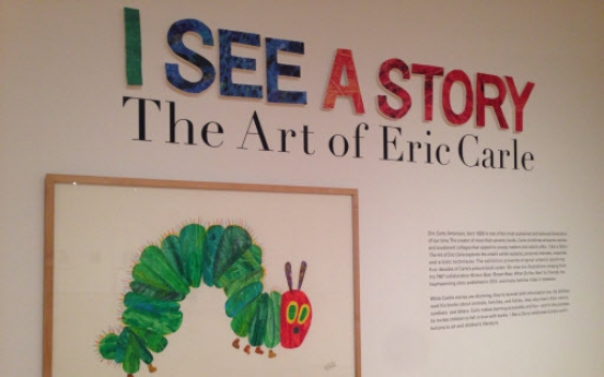 Museum invites visitors into colorful world of Eric Carle