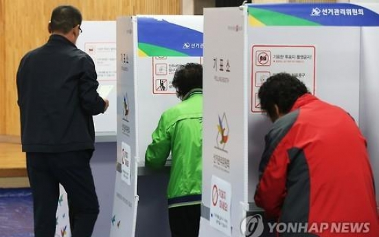 Exit poll shows ruling party failing to win parliamentary majority