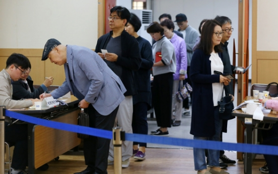 Voters go to polls with hopes of improved politics