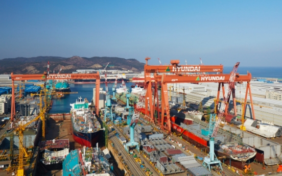 Hyundai Heavy returns to profit in Q2 on cost reduction
