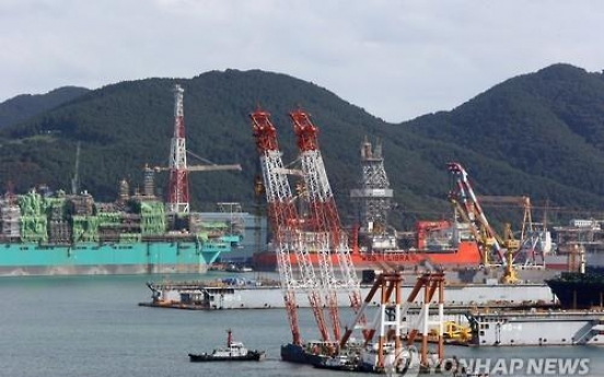 Korean shipbuilders in trouble, but still in global top ranks