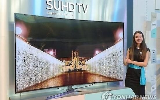 Samsung keeps throne in Q1 LCD TV sales amid falling shipments