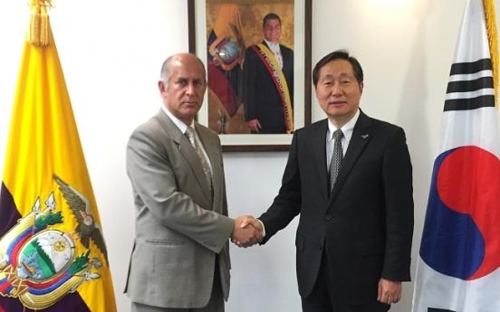 [Photo News] Dongwon donates for Ecuador earthquake