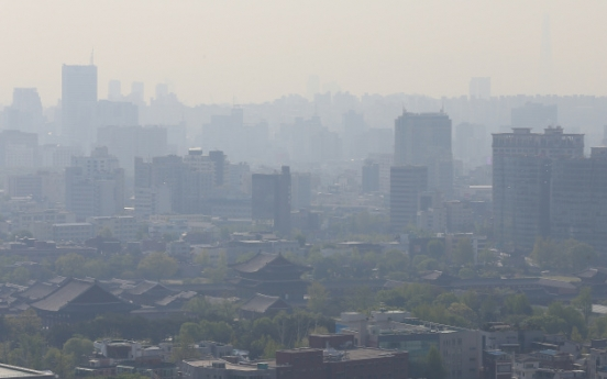 Seoul struggles to cope with fine dust from emissions