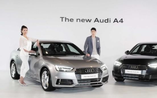 [Photo News] Audi rolls out new A4
