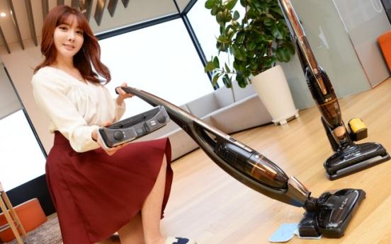 [Photo News] LG CordZero mopping cleaner
