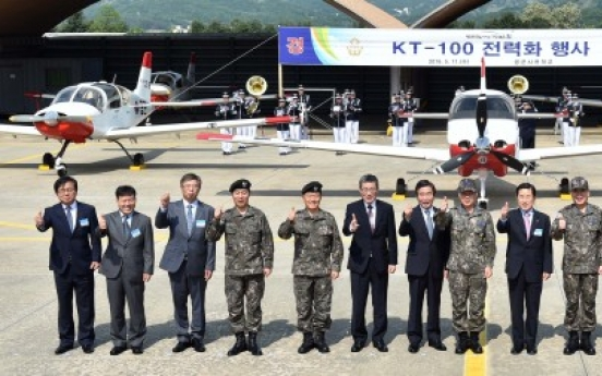 [Photo News] Korea's first homegrown trainer jet goes into use
