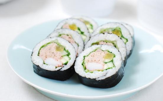 Chamchi (tuna) gimbap