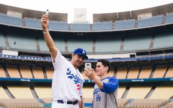 [Photo News] LG meet Dodgers