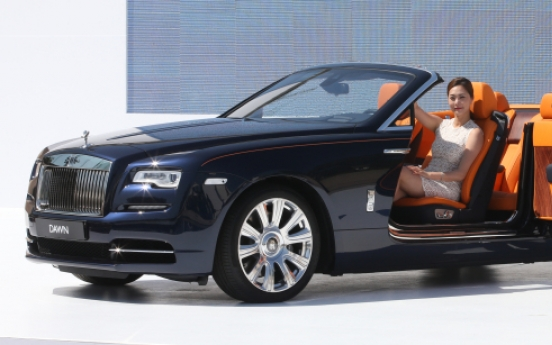 [Photo News] Debut of sexiest Rolls-Royce ever
