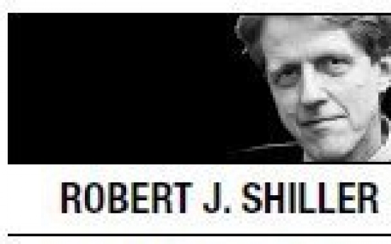 [Robert J. Shiller] Fighting next global financial crisis