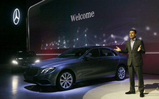 Mercedes-Benz eyes top spot in sales with new E-Class