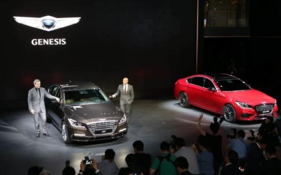 Genesis unveils G80, G80 Sport at Busan motor show