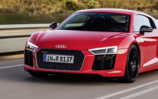 Audi presents cars offering driving pleasure