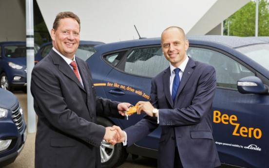 [Photo News] Hyundai's Tucson FCEV for car-sharing