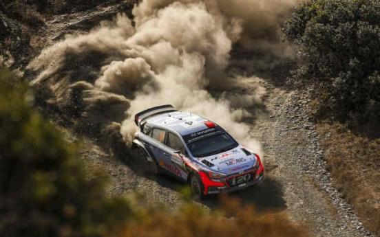 [Photo News] Hyundai wins WRC