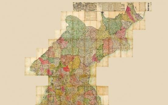 Rare Joseon-era map of Korea to be auctioned