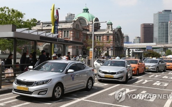 Seoul to reduce number of taxi stands by third