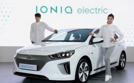 Hyundai Motor to release EV Ioniq soon