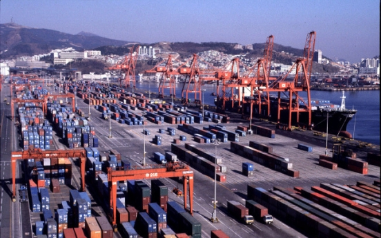 Korea's trade with China, US declines
