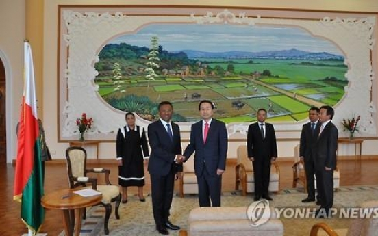 Korea to open embassy in Madagascar
