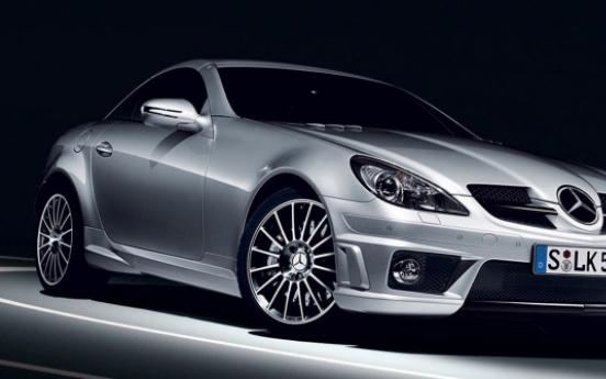Mercedes-Benz Korea to recall SLK luxury sedans