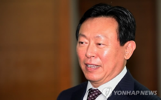 Lotte chairman fends off elder brother's challenge for third time