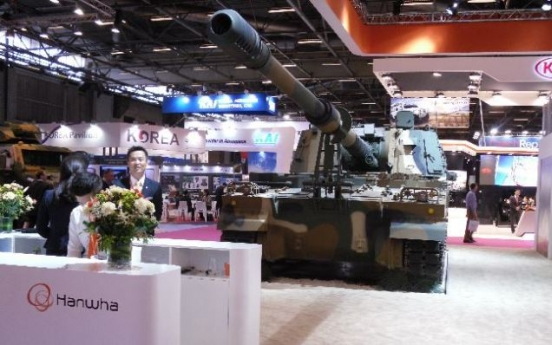 Hanwha reshuffles defense businesses, aims for global top 10