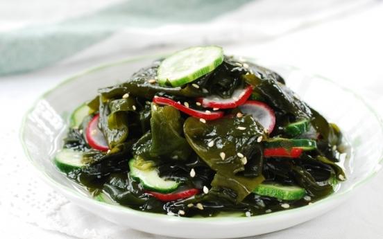 [Home Cooking] Miyeok muchim (Seaweed salad)