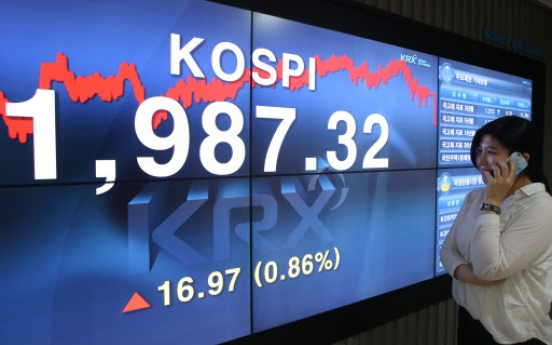 [Photo News] Kospi Rebounds