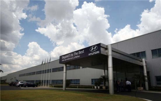 Hyundai Motor retains 4th spot in Brazil's auto market