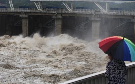 Heavy monsoon rain pounds capital, central area