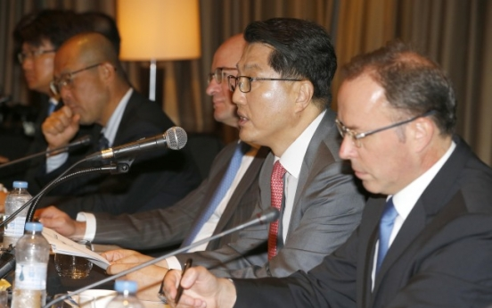 [Photo News] Watchdog and foreign financial firms