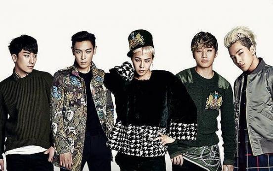 Korean boy group Big Bang earned more than Maroon 5 in 2015: report
