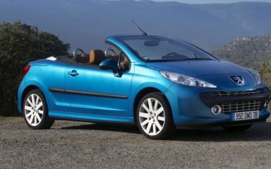 Peugeot to recall subcompact convertible 207 in Korea