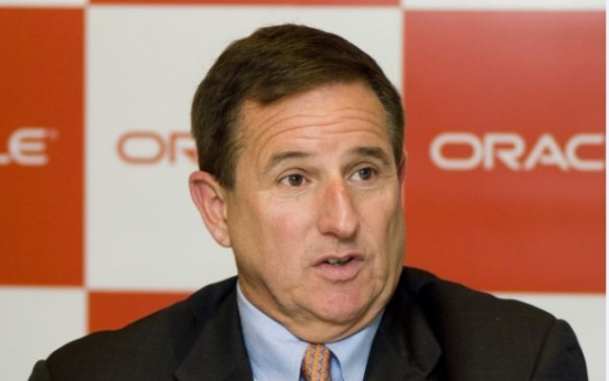 Oracle co-CEO holds strategic meetings with Samsung, POSCO execs