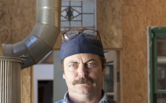 Nick Offerman finds the voice of Tom Sawyer