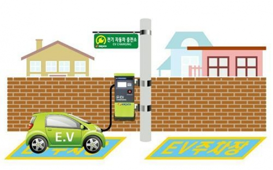 Electric car chargers to be available at telephone poles