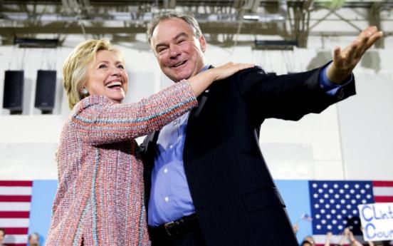 [Newsmaker] Hillary Clinton chooses Virginia Sen. Tim Kaine as running mate