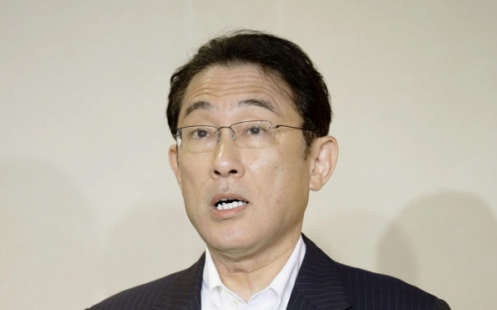 Japan's top diplomat expresses pleasure at improved ties with Korea
