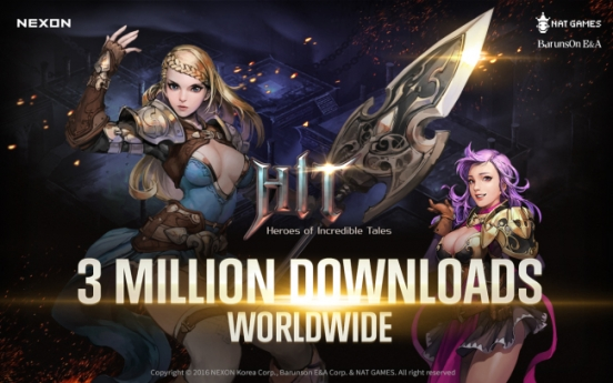 Nexon's latest mobile game a big hit overseas