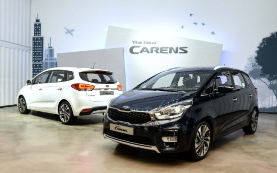 Kia Motors unveils new Carens